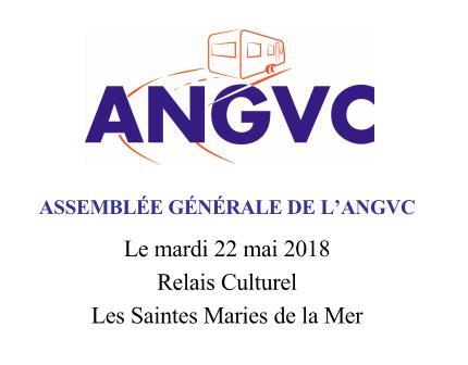 ASSEMBLEE GENERALE 2018 DE L'ANGVC